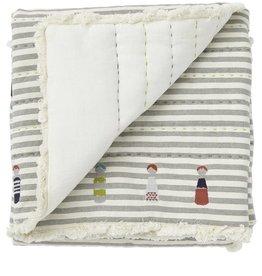 Pehr Little Peeps Quilted Nursery Blanket