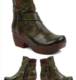 jafa Jafa 610 Boot Olive/Brown