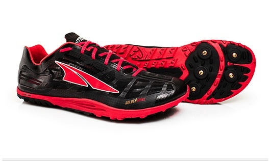 Altra Men's/Women's Golden Spikes Red