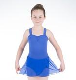 W/S Kid Apparel Pull on Mock Wrap Skirt