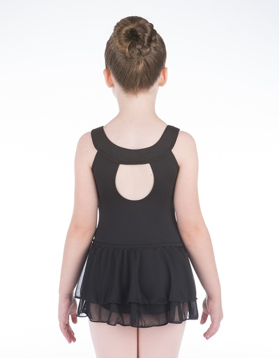 W/S Kid Apparel Double Tiered Pull On Skirt