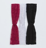 W/S Accessory 1503- Knotted Lace Headband