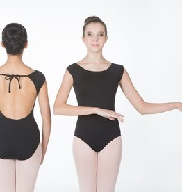 W/S Adult Apparel Notting Hill Bateau Neck Open Back Leotard