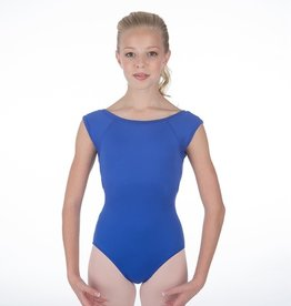 W/S Kid Apparel Bateau Neck Open Back Leotard