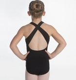 W/S Kid Apparel Brixton Thick Strap Bateau Neck with Cross Back