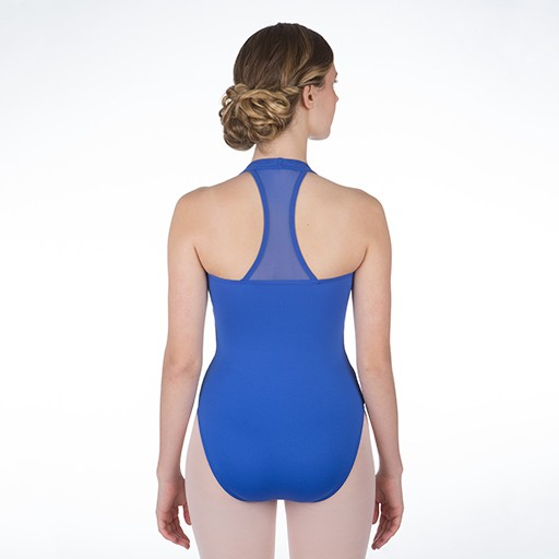 W/S Adult Apparel Wimbley Empire Leotard with Mesh Razorback