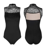 W/S Adult Apparel Lace Sleeveless Turtleneck