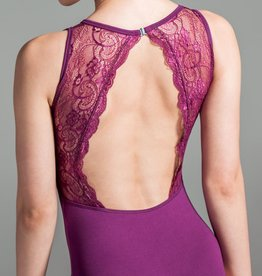 W/S Adult Apparel Chantilly illusion sweetheart with lace back