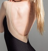 W/S Adult Apparel Sparkling mesh 3/4 sleeve 'V' back