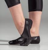 W/S Dance Shoe Suede Split Sole Neoprene Arch Jazz Shoe-AN
