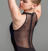 W/S Adult Apparel Velvet mock turtleneck with zip back