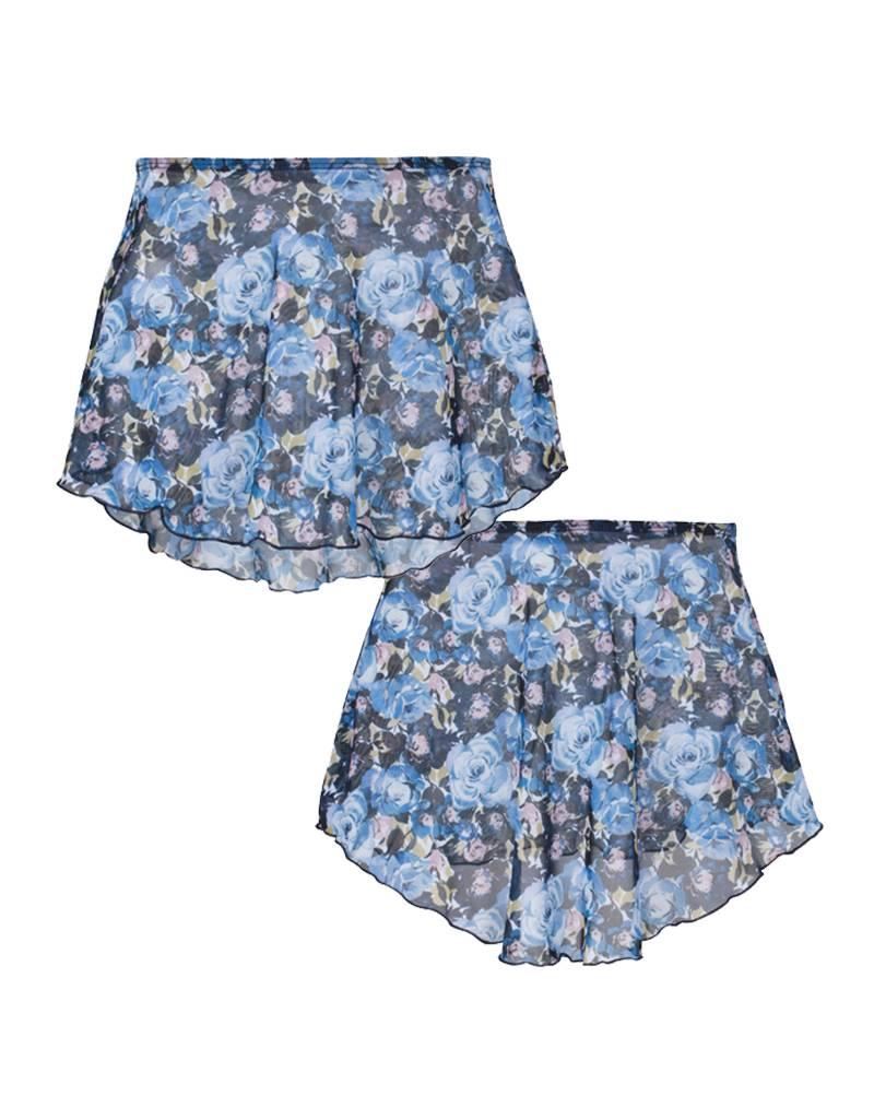 W/S Kid Apparel Mesh high low skirt