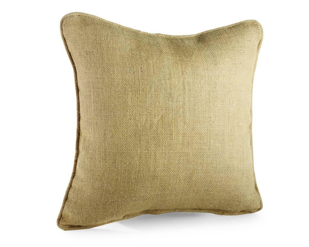 even burlap weave pillow pillows