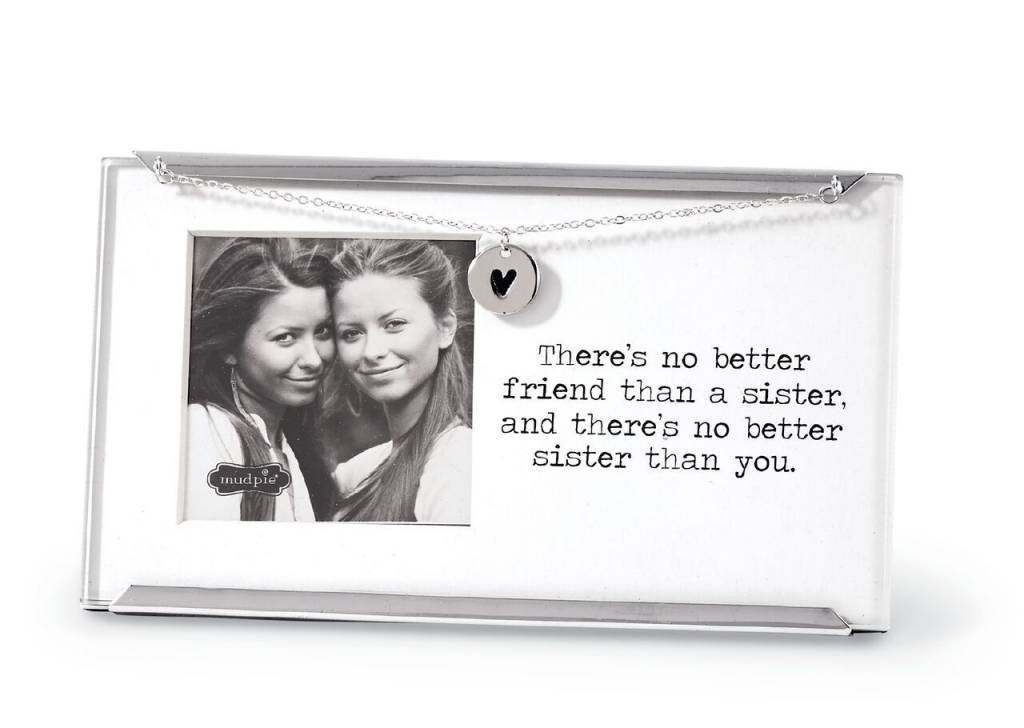 MUD PIE SISTER CLIP FRAME - Urbane South