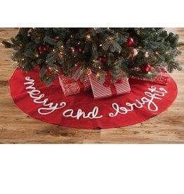 mud pie merry bright tree skirt - Mud Pie Christmas Decor