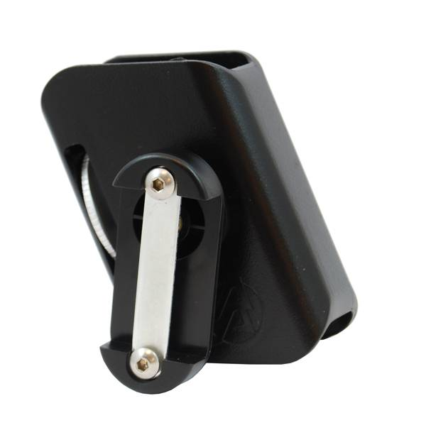 Double Alpha Double Alpha Race Magazine Pouch-Black