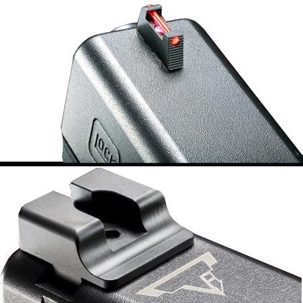 Taran Tactical Taran Tactical Glock Ultimate Fiber Optic Sight Kit