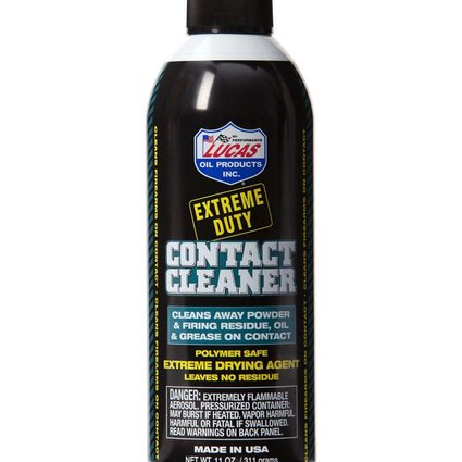 Lucas Oil Lucas Oil Extreme Duty Contact Cleaner 11oz Aersol Can