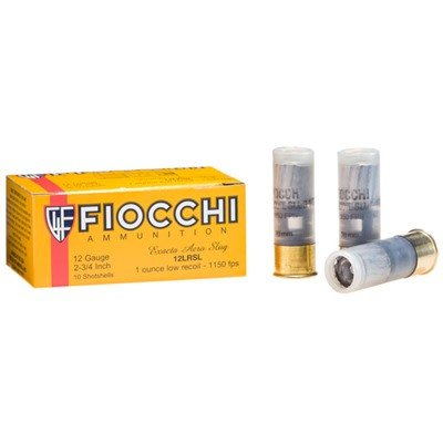 Fiocchi Fiocchi Ammunition Exacta Aero Slug Low Recoil 1oz 1150fps