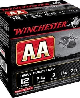 Winchester Winchester AA 12ga 2.75 #7 1/2 1-1/8oz 1200fps