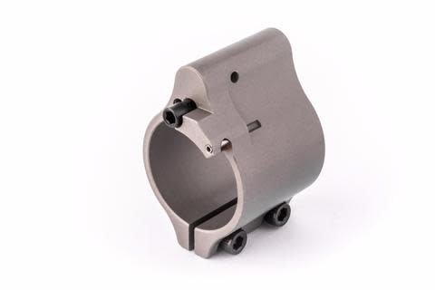 Superlative Arms Superlative Arms Adjustable Gas Block, Bleed Off- Clamp-On Stainless