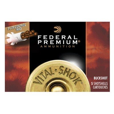 "Federal Federal Vital Shok w/ Flitecontrol 12ga 2.75"" 9 Pel  #00"