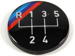 OEM BMW Gearknob Emblem