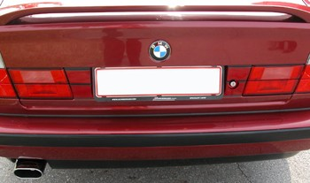 BMW E34 M5 License Plate Filler