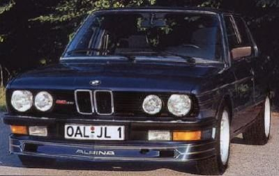 E28 Alpina Type 654 Front Spoiler - Abrahams Motorsport