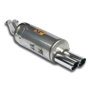 Supersprint E34 Supersprint Stainless Steel Rear Exhaust with 2x76mm Tips