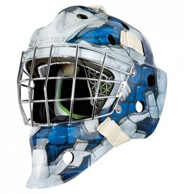 Bauer 2017 BAUER GM NME 4 GOAL MASK THE WALL BLUE SENIOR