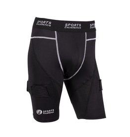 Sports Excellence SPORTS EXCELLENCE COMPRESSION JOCK SHORT - SENIOR