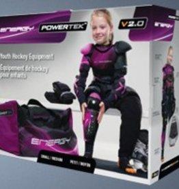 Powertek POWERTEK GIRL'S STARTER KIT LARGE/X-LARGE 7 PIECE