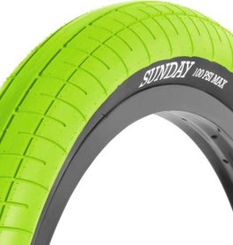 Sunday SUNDAY Street Sweeper BMX TIRE 2.4 - Green
