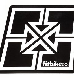 FIT BIKE CO Fit Decal - Large sticker - Key Logo