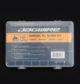 JAGWIRE JAGWIRE MINERAL OIL BLEED KIT BRAKE MAINTENANCE KIT