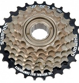 Shimano SHIMANO freewheel 6 spd. SPIN ON MF-TZ20 - 14/28t