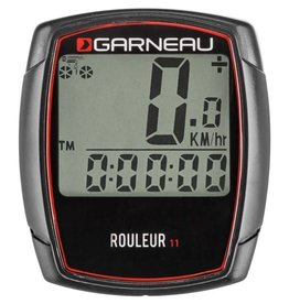 Louis Garneau LOUIS GARNEAU ROULEUR 11 CYCLOMETER WIRED 11 FUNCTION