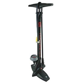 Evo EVO HURRICANE FLOOR PUMP - w/gauge - blk