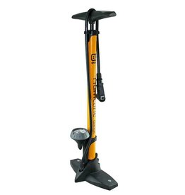 Evo EVO HURRICANE FLOOR PUMP - w/gauge - yellow