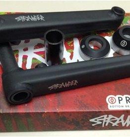 Stranger Stranger CRUX Crankset - 175mm - Black - w/Primo 19mm BB