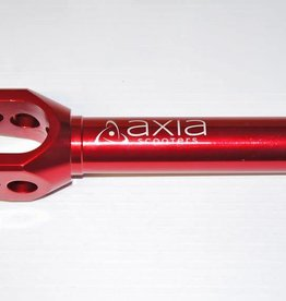 Axia AXIA SCOOTER FORK SV1 - PITCHED / DRILLED HOLES COLOR - RED