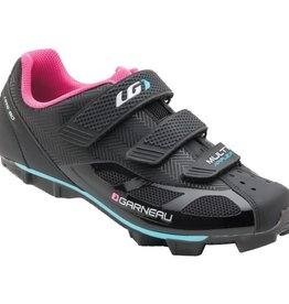 Louis Garneau Louis Garneau WOMEN'S MULTI AIR FLEX CYCLING SHOES BLACK/PINK 38 / US 7