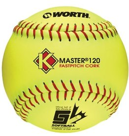 Worth Worth K MASTER 120 FASTPITCH BALL C120YCC