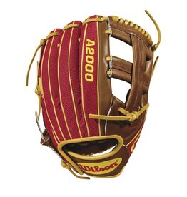 "Wilson WILSON A2000 DP15 SUPERSKIN GLOVE 11.75"" GLOVE"