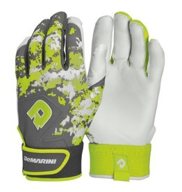 DeMarini DEMARINI DIGI II BATTING GLOVE ADULT OPTIC GREEN MEDIUM