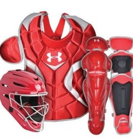 Under Armour UNDER ARMOUR VICTORY SERIES CATCHERS KIT JUNIOR SCARLET