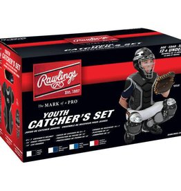 Rawlings RAWLINGS RENEGADE CATCHER SET AGES 12 AND UNDER - ROYAL