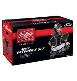 Rawlings RAWLINGS RENEGADE CATCHER SET AGE 15 AND UP BLACK