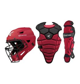 Easton EASTON M5 QWIKFIT BOX SET YOUTH 9-12 - RED/BLACK